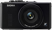 Sigma's DP2x digital camera. Photo provided by Sigma Corp. of America.
