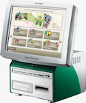Fujifilm's DPC7 print order terminal. Courtesy of Fujifilm, with modifications by Michael R. Tomkins.