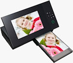 Sony's DPP-F700 S-Frame�digital photo frame with printer. Photo provided by Sony Electronics Inc.