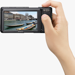 Sony's Cyber-shot DSC-G3 digital camera. Photo provided by Sony Electronics Inc.