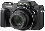 Sony's Cyber-shot DSC-H10 digital camera. Courtesy of Sony, with modifications by Michael R. Tomkins.