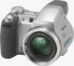 Sony's Cyber-shot DSC-H2 digital camera. Courtesy of Sony, with modifications by Michael R. Tomkins.
