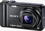 Sony's Cyber-shot DSC-H55 digital camera. Photo provided by Sony Electronics Inc.