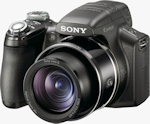 Sony's Cyber-shot DSC-HX1 digital camera. Photo provided by Sony Electronics Inc.