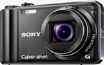 Sony's Cyber-shot DSC-HX5V digital camera. Photo provided by Sony.
