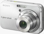 Sony's Cyber-shot DSC-N1 digital camera. Courtesy of Sony, with modifications by Michael R. Tomkins.