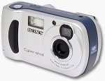 Sony's DSC-P31 digital camera. Copyright © 2002, The Imaging Resource.  All rights reserved.