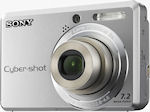 Sony's Cyber-shot DSC-S730 digital camera. Courtesy of Sony, with modifications by Michael R. Tomkins.