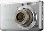 Sony's Cyber-shot DSC-S780 digital camera. Courtesy of Sony, with modifications by Michael R. Tomkins.