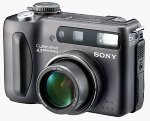 Sony's DSC-S85 digital camera. Courtesy of Sony Electronics.