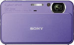 Sony's Cyber-shot DSC-T99 digital camera. Photo provided by Sony Electronics Inc.
