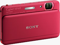 Sony's Cyber-shot DSC-TX55 digital camera. Photo provided by Sony Electronics Inc.
