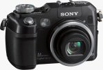 Sony's Cyber-shot DSC-V3 digital camera. Courtesy of Sony, with modifications by Michael R. Tomkins.