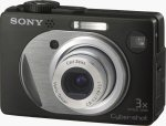 Sony's Cyber-shot DSC-W1 digital camera. Courtesy of Sony, with modifications by Michael R. Tomkins.
