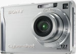 Sony's Cyber-shot DSC-W200 digital camera. Courtesy of Sony, with modifications by Michael R. Tomkins.