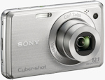 Sony's Cyber-shot DSC-W220 digital camera. Photo provided by Sony Electronics Inc.
