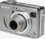 Sony's Cyber-shot DSC-W5 digital camera. Courtesy of Sony, with modifications by Michael R. Tomkins.