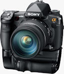 Sony's Alpha DSLR-A850 digital SLR. Photo provided by Sony Electronics Inc.