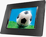 Hama's 90922 20.3cm digital photo frame with DVB-T receiver. Photo provided by Hama GmbH & Co KG.