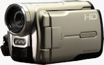 DXG Technology's DVH586 flash video camera. Courtesy of Geotate, with modifications by Michael R. Tomkins.