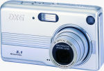 DXG's Model 528 digital camera. Courtesy of DXG, with modifications by Michael R. Tomkins.