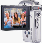 DXG's DXG-589V digital camera. Courtesy of DXG, with modifications by Michael R. Tomkins.