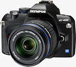 Olympus E-420 digital SLR. Courtesy of Olympus, with modifications by Zig Weidelich.