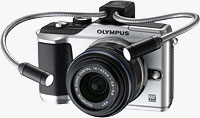 Olympus' PEN E-PL2 digital camera. Photo provided by Olympus Imaging America Inc.