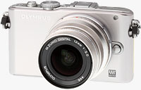 Olympus' PEN E-PL3 compact system camera. Image copyright � 2011, Imaging Resource. All rights reserved.