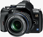 Olympus' E-600 digital SLR. Photo provided by Olympus Imaging America Inc.