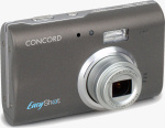 Concord's EasyShot 500z digital camera. Courtesy of Concord, with modifications by Michael R. Tomkins.