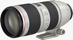 Canon's EF 70-200mm f/2.8L IS II USM lens with tripod collar attached. Photo provided by Canon.