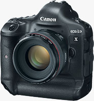 Canon's EOS-1D X digital SLR. Photo provided by Canon USA Inc.