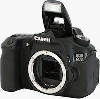 Canon's EOS 60D digital SLR. Photo copyright � 2010, Imaging Resource. All rights reserved.