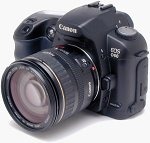 Canon's EOS D60 digital camera. Copyright © 2002, The Imaging Resource.  All rights reserved.