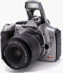 Canon's EOS Digital Rebel. Copyright © 2003, The Imaging Resource. All rights reserved.