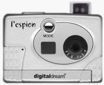 Digital Dream Co.'s l'Espion digital camera. Courtesy of Digital Dream Co., with modifications by Michael R. Tomkins.