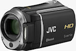 JVC's Everio HD GZ-HM550 camcorder. Photo provided by JVC Americas Corp.