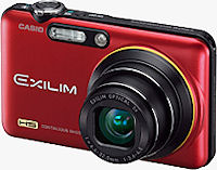 Casio's EXILIM EX-FC160S digital camera. Photo provided by Casio Computer Co. Ltd.