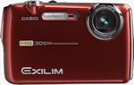 Casio's EXILIM EX-FS10 digital camera. Photo provided by Casio America Inc.