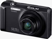 Casio's EXILIM EX-H30 digital camera. Photo provided by Casio America Inc.