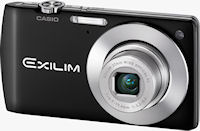 Casio's EXILIM Card EX-S200 digital camera. Photo provided by Casio Computer Co. Ltd.