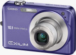 Casio's EXILIM EX-Z1050 digital camera. Courtesy of Casio, with modifications by Michael R. Tomkins.