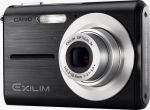Casio's EXILIM ZOOM EX-Z5 digital camera. Courtesy of Casio, with modifications by Michael R. Tomkins.
