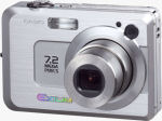 Casio's EXILIM EX-Z750 digital camera. Courtesy of Casio, with modifications by Michael R. Tomkins.