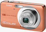 Casio's EXILIM Zoom EX-Z85 digital camera. Courtesy of Casio, with modifications by Michael R. Tomkins.