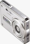 Casio's EXILIM EX-S100 digital camera. Courtesy of Casio, with modifications by Michael R. Tomkins.