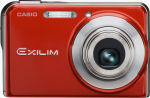 Casio's EXILIM CARD EX-S770 digital camera. Courtesy of Casio, with modifications by Michael R. Tomkins.