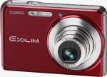 Casio's EXILIM CARD EX-S880 digital camera. Courtesy of Casio, with modifications by Michael R. Tomkins.