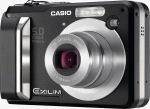 Casio's EXILIM EX-Z10 digital camera. Courtesy of Casio, with modifications by Michael R. Tomkins.